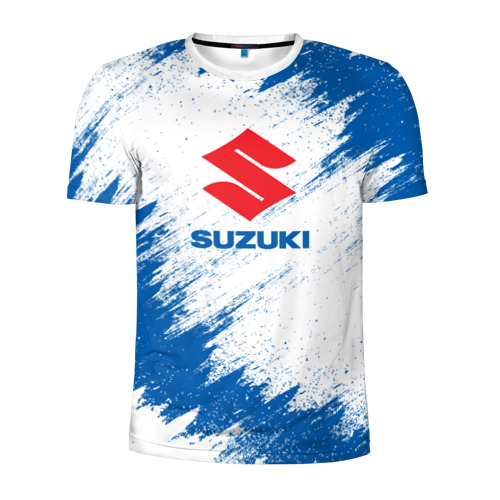 Мужская футболка 3D спортивная Suzuki