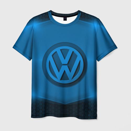 Мужская футболка 3D Volkswagen SPORT