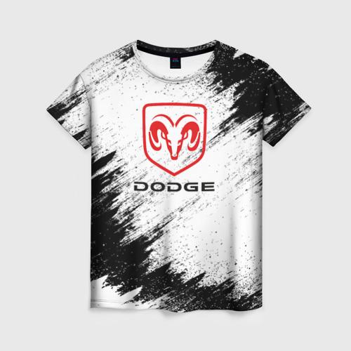 Женская футболка 3D DODGE