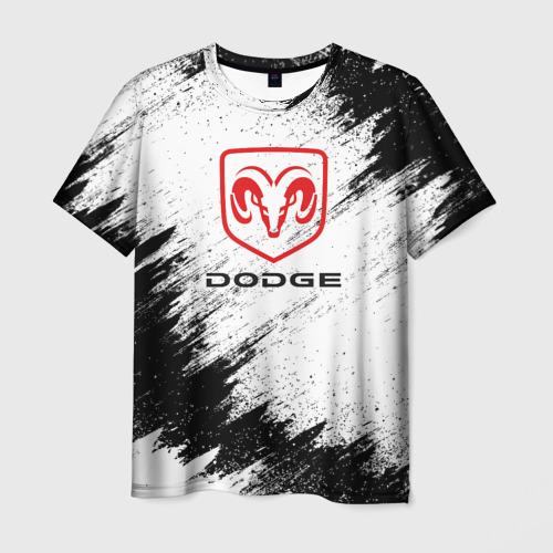 Мужская футболка 3D DODGE