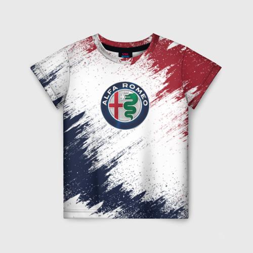 Детская футболка 3D Alfa Romeo