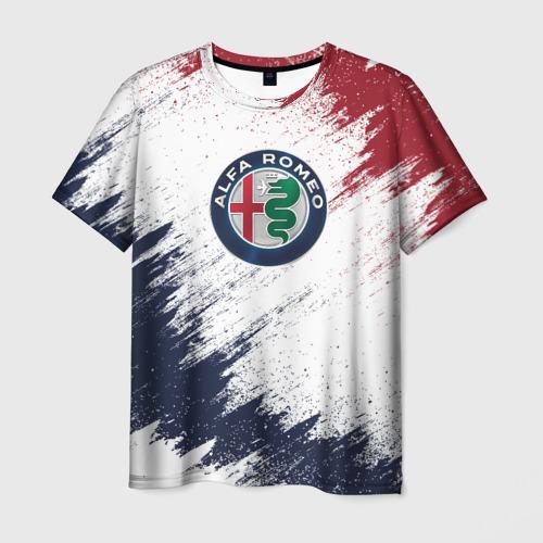 Мужская футболка 3D Alfa Romeo