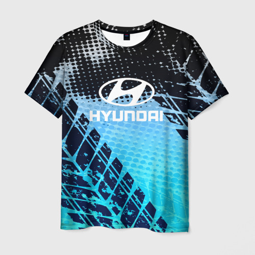 Мужская футболка 3D Hyundai sport auto motors 2018