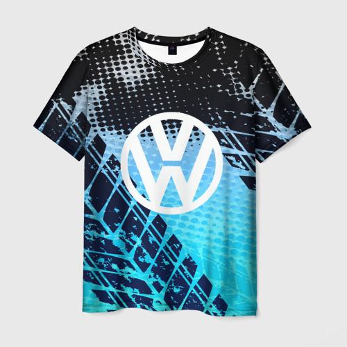 Мужская футболка 3D Volkswagen sport auto motors