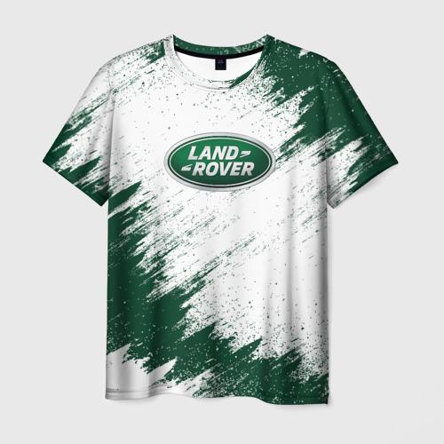 Мужская футболка 3D LAND ROVER