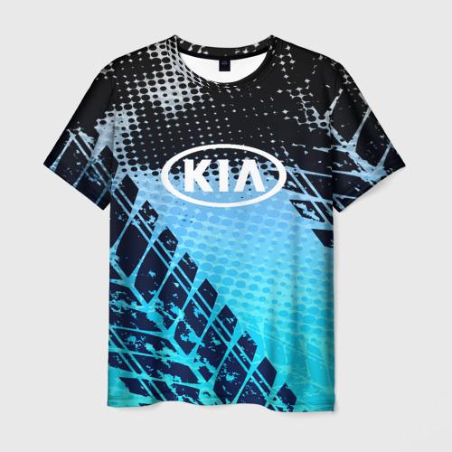 Мужская футболка 3D KIA sport auto motors