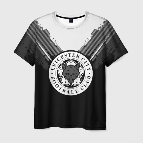 Мужская футболка 3D Leicester abstract original