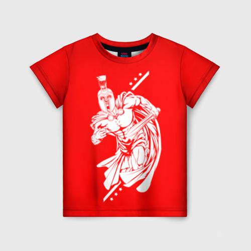 Детская футболка 3D Гладиатор