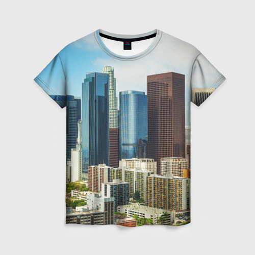 Женская футболка 3D Los Angeles