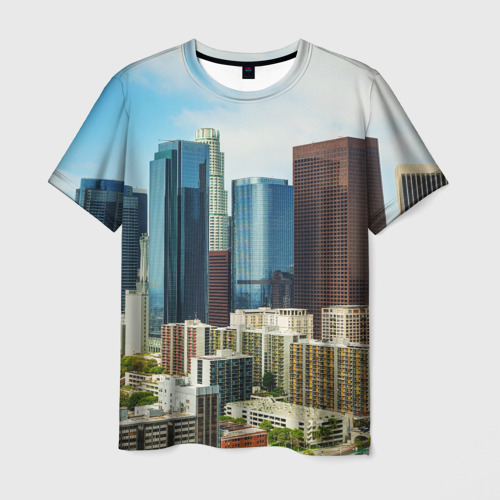 Мужская футболка 3D Los Angeles