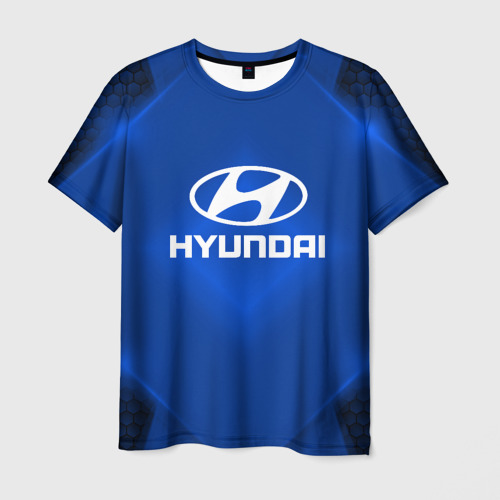Мужская футболка 3D Hyundai SPORT