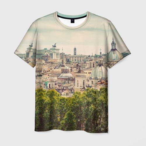 Мужская футболка 3D Рим