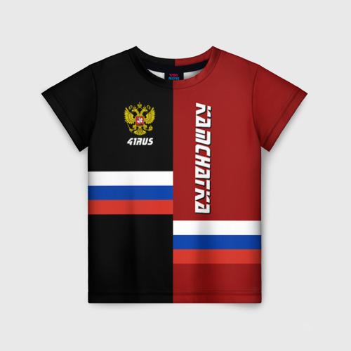 Детская футболка 3D KAMCHATKA (Камчатка)