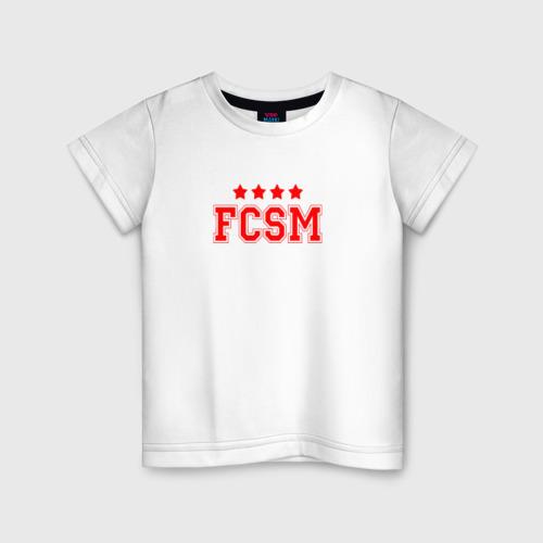 Детская футболка хлопок Футбольный клуб