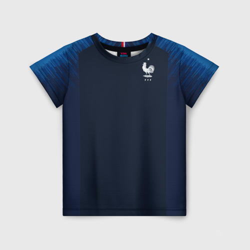 Детская футболка 3D France home WC 2018
