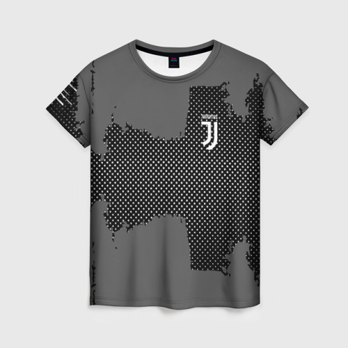 Женская футболка 3D JUVENTUS SPORT