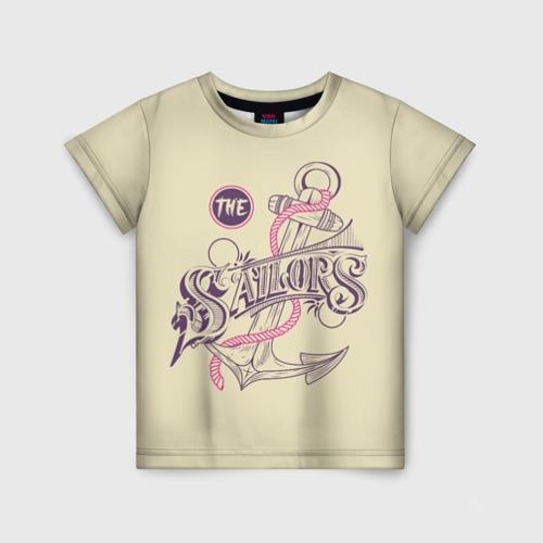 Детская футболка 3D Якорь