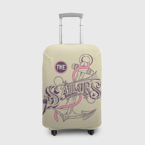 Чехол для чемодана 3D Якорь