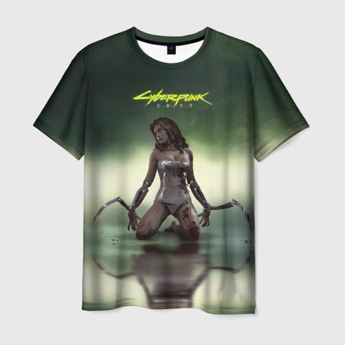 Мужская футболка 3D Cyberpunk2077