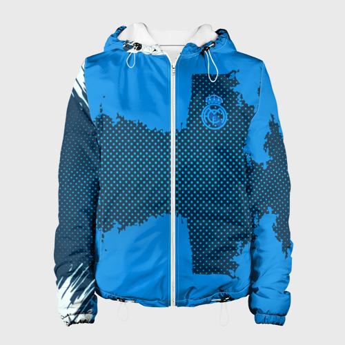 Женская куртка 3D REAL MADRID SPORT BLUE