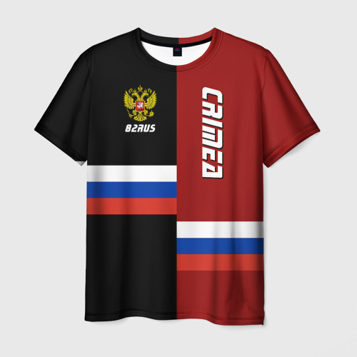 Мужская футболка 3D Crimea (Крым)