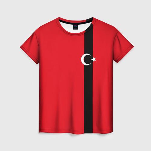 Женская футболка 3D Турция лента
