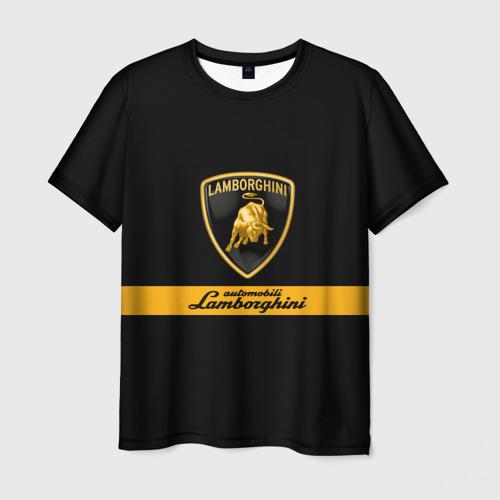 Мужская футболка 3D Lamborghini Automobili S.p.A.