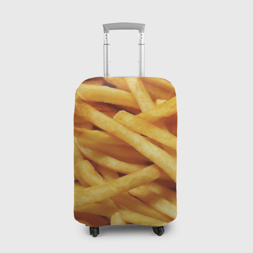 Чехол для чемодана 3D Картошка фри