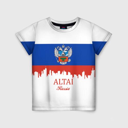 Детская футболка 3D ALTAI Russia