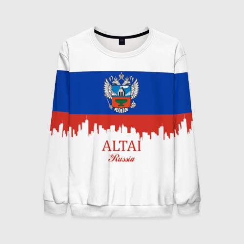 Мужской свитшот 3D ALTAI Russia