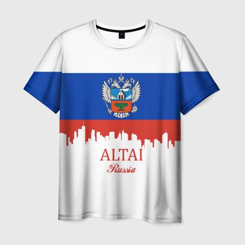 Мужская футболка 3D ALTAI Russia