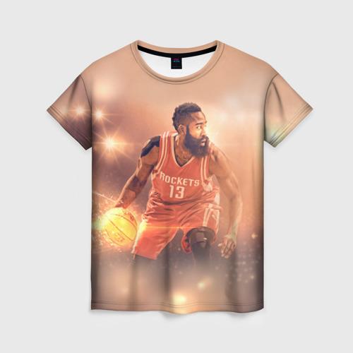 Женская футболка 3D NBA Stars