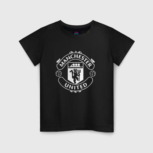 Детская футболка хлопок Manchester United