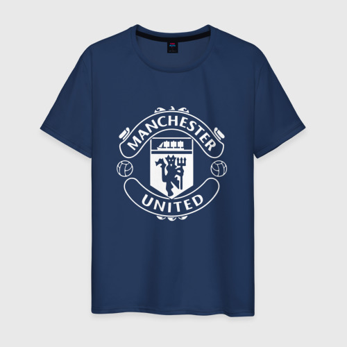 Мужская футболка хлопок Manchester United