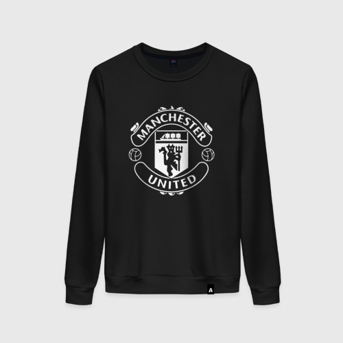 Женский свитшот хлопок Manchester United