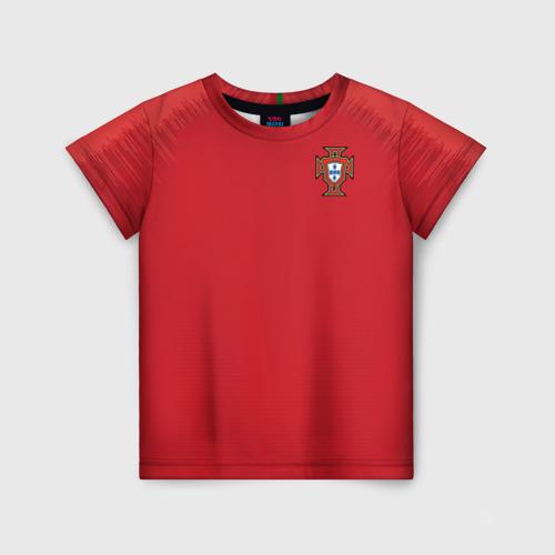 Детская футболка 3D Португалия 2018 ЧМ