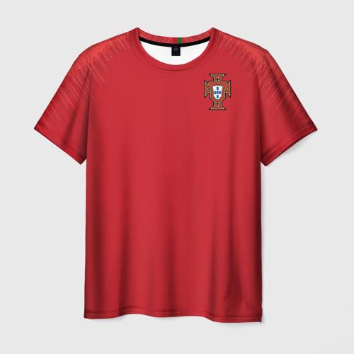 Мужская футболка 3D Португалия 2018 ЧМ