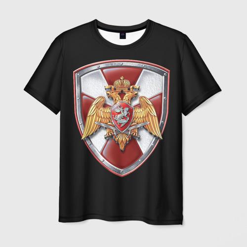 Мужская футболка 3D Росгвардия