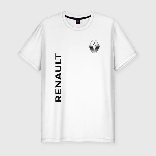 Мужская футболка хлопок Slim Renault