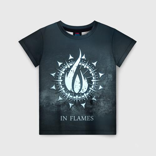 Детская футболка 3D In Flames