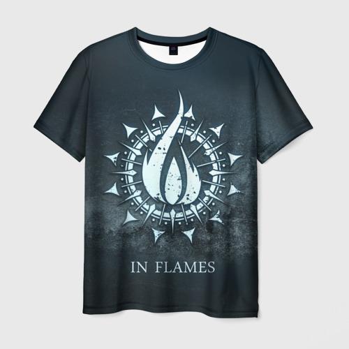 Мужская футболка 3D In Flames