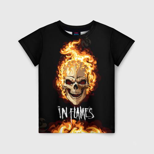 Детская футболка 3D В пламени