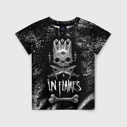 Детская футболка 3D In Flames King