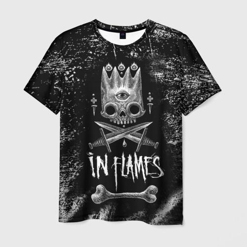 Мужская футболка 3D In Flames King