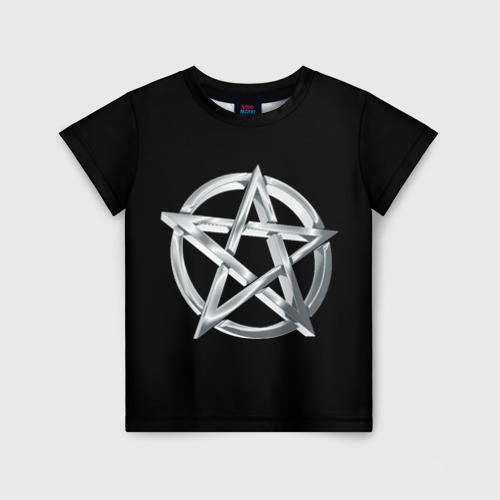 Детская футболка 3D Пентаграмма