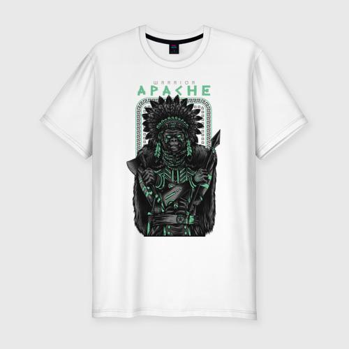 Мужская футболка хлопок Slim Apache