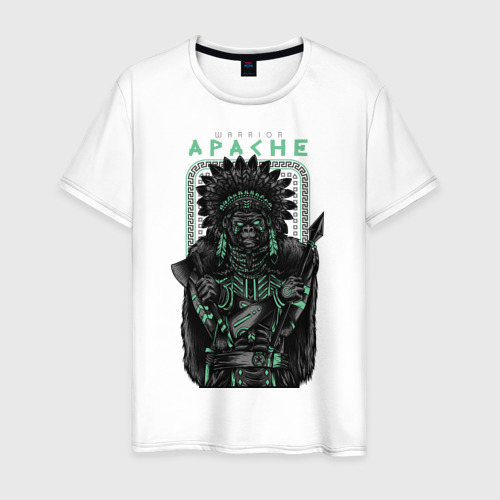 Мужская футболка хлопок Apache