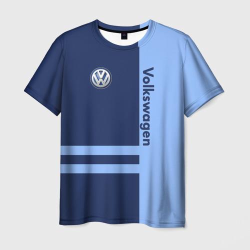 Мужская футболка 3D Volkswagen