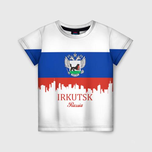 Детская футболка 3D IRKUTSK (Иркутск)