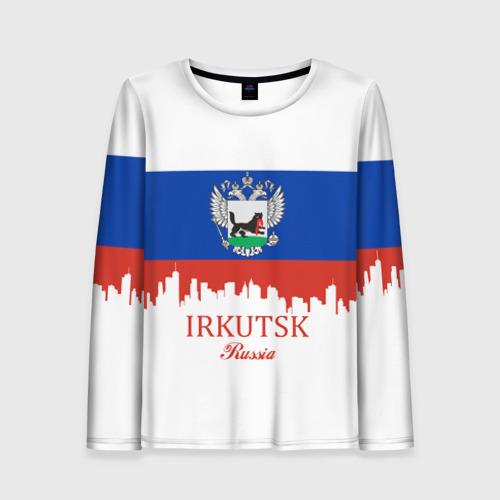 Женский лонгслив 3D IRKUTSK (Иркутск)